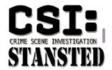 CSI: STANSTED Tag